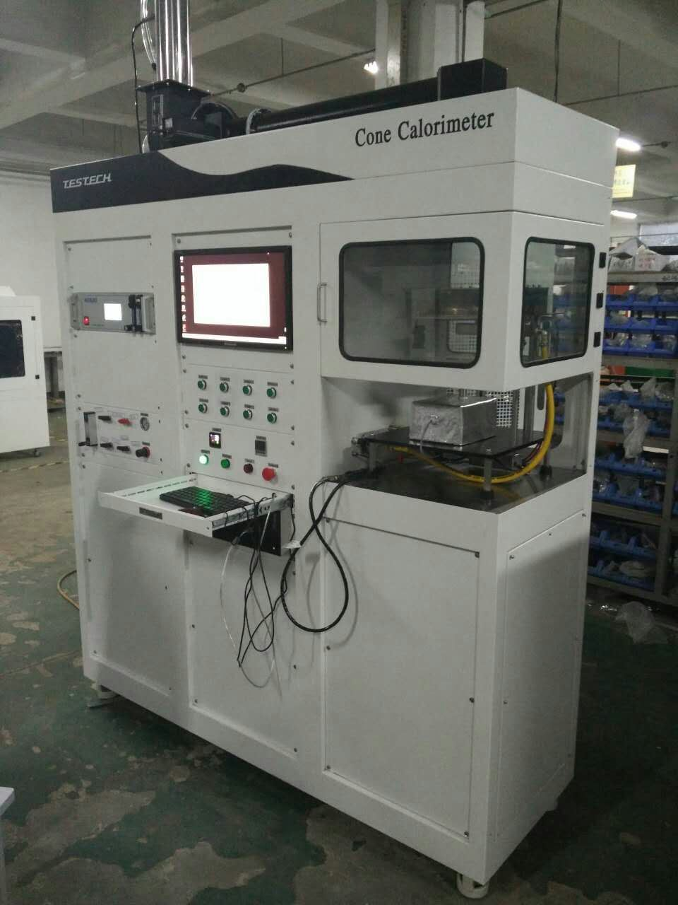 Cone Calorimeter Heat Release Test Machine, ISO 5660 (FTech-ISO5660A)
