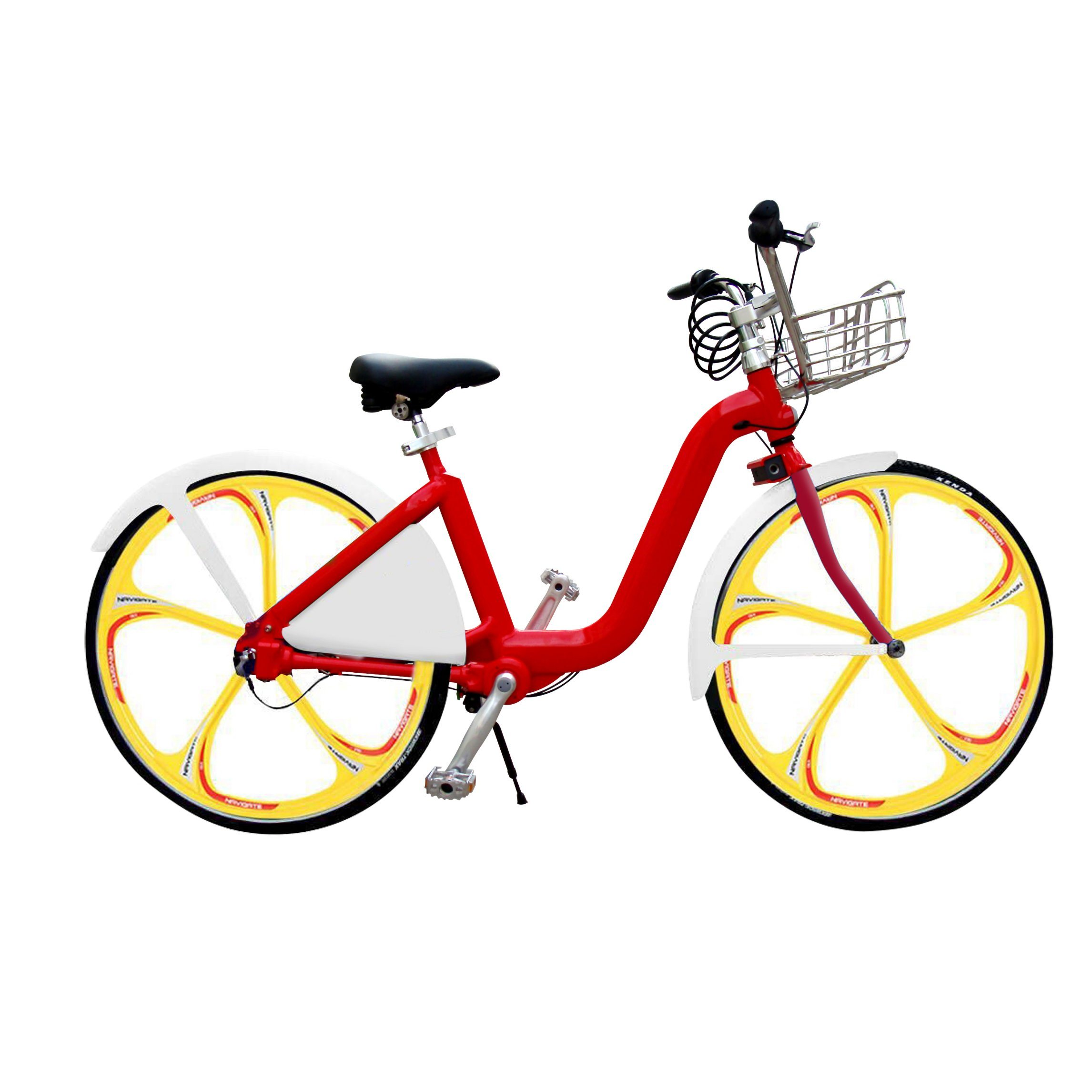 City Rental Bicycle with Aluminum Alloy Frame Self Rent Urban Shaft Drive Bike Without Chain