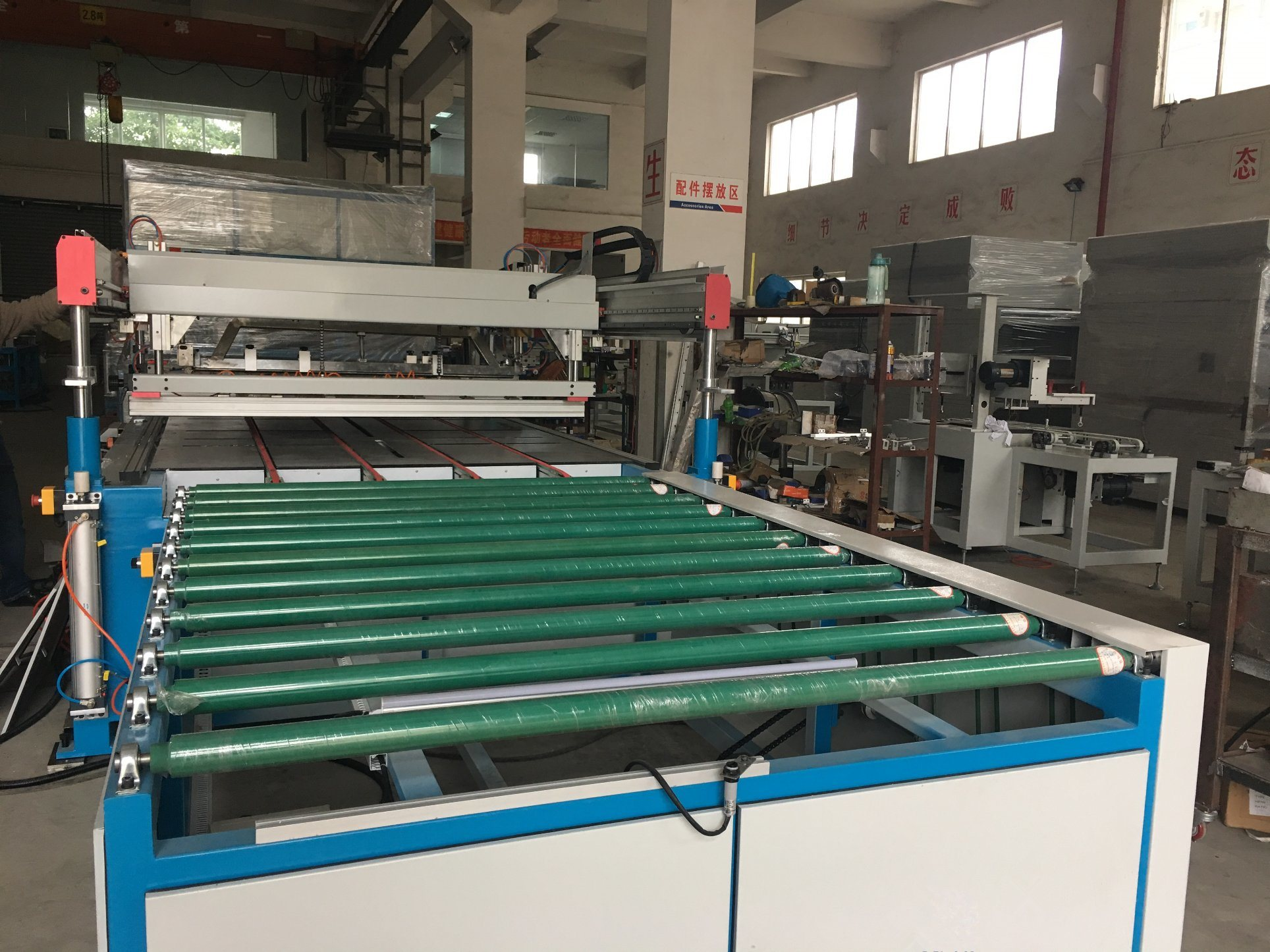 Full-Auto Four Colums Glass Screen Printing Machine