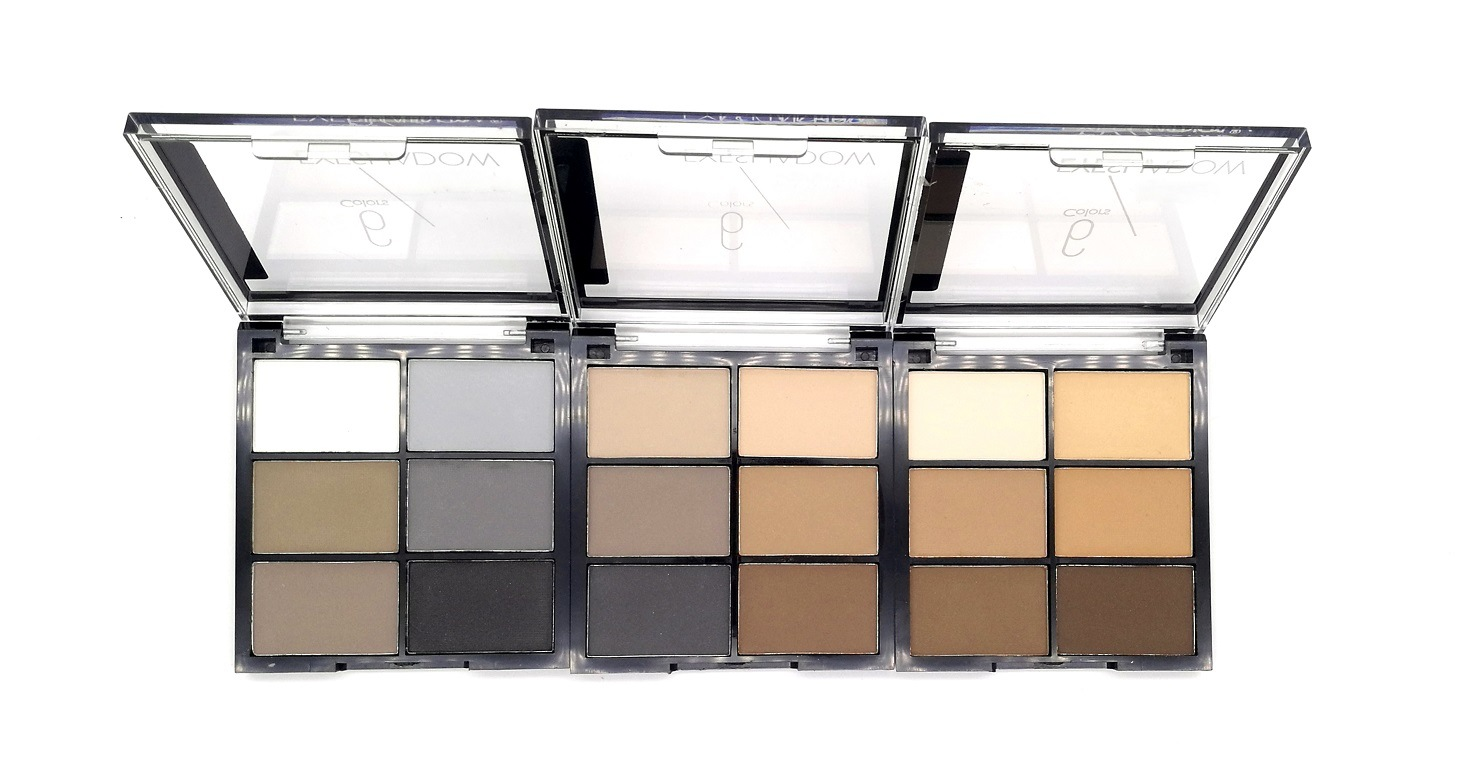 Hot Selling New 6 Colors Matte Plain Eyeshadow Palette