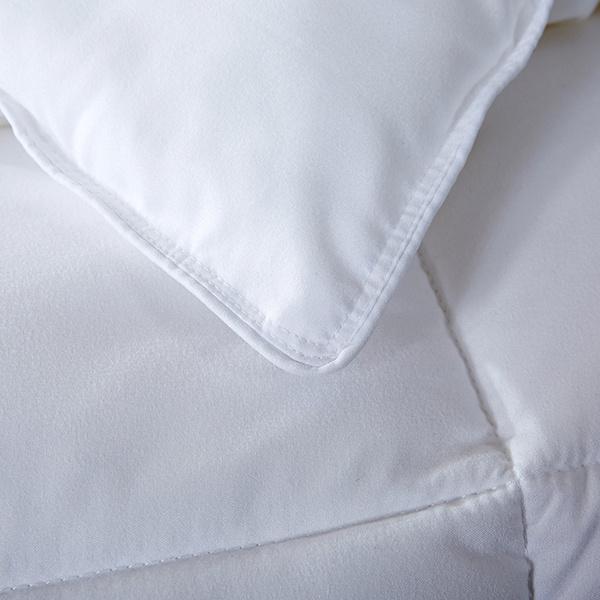 High Quality Luxury White Warm Down Alternative Hotel Cotton Duvet