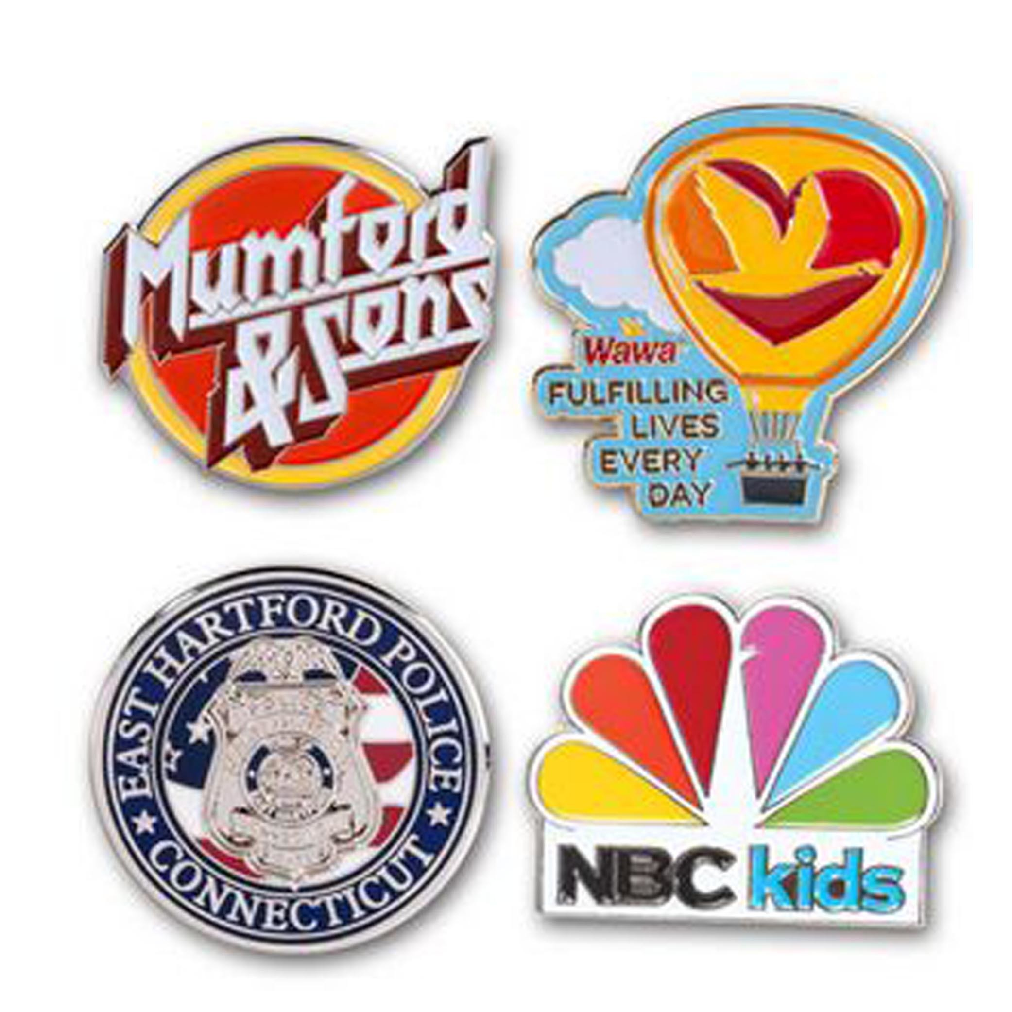 Custom Quality Soft Enamel Lapel Pins Badges Promotion