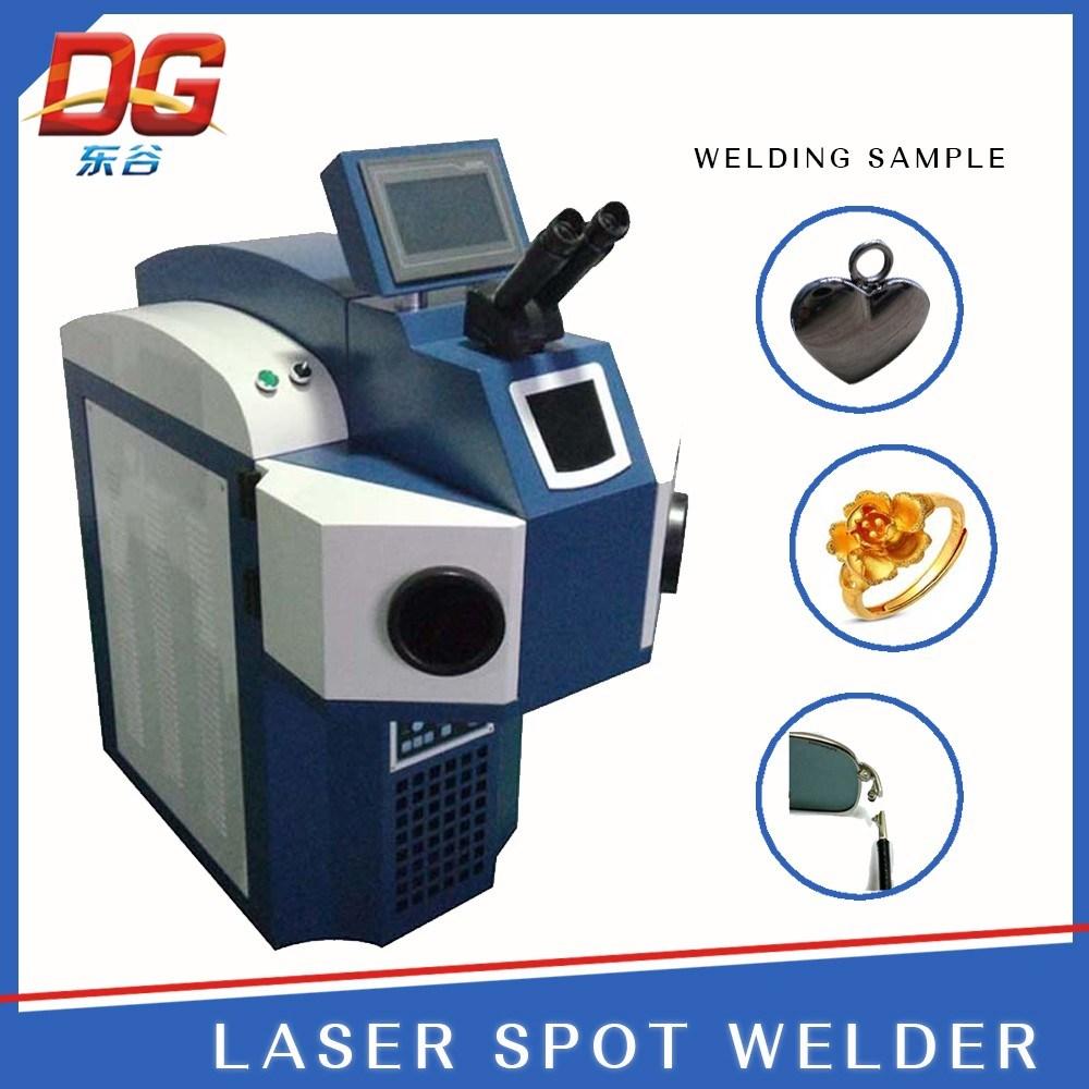 High Efficiency 200W Build-in Jewelry Laser Welding Machine Spot Welding