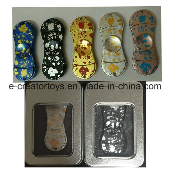 Fashionable Aluminium Alloy Hand Spinner /American Captain / Iron Man / Spiderman Styles