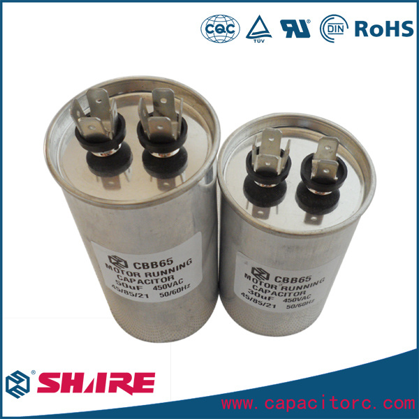 Anti-Explosion Oil-Filled Cbb65 AC Motor Capacitor