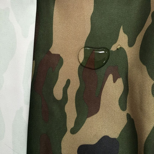 Coated Military Camouflage Fabric of 100% Polyester Oxford