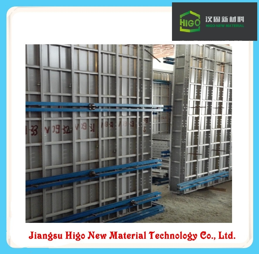 6061-T6 Aluminium Formwork for Building Construction / Concrete Formwork System