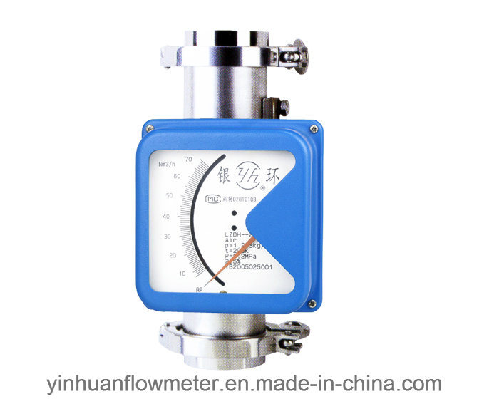 Hoop Collar Type Metal Tube Float Variable Area Flowmeter