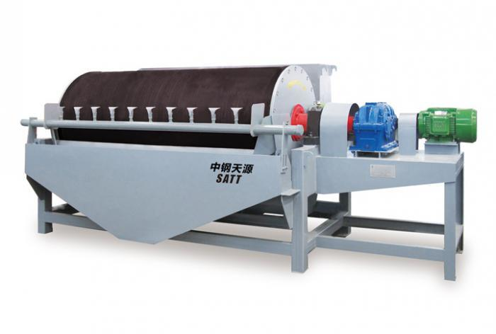 Permanent Wet Drummagnetic Separator (CT Series)