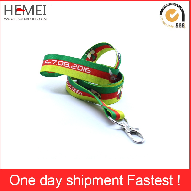 Custom Polyester Printing Lanyards From Factory