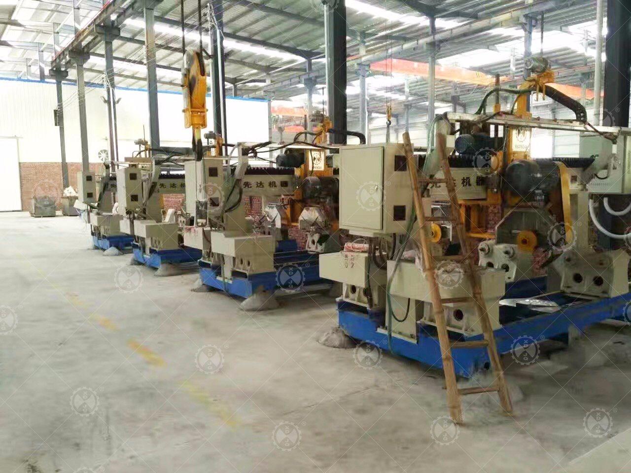 Fhrc-230/460-4 Marble Granite Handrail/Column/Balustrade Cutting Machine