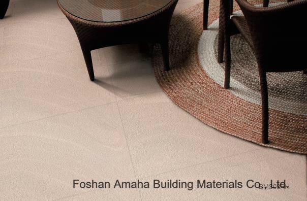 Sands Stone Concave & Convex Surface Thick Convex Rough Ceramic Floor Tile (BMS01RH)