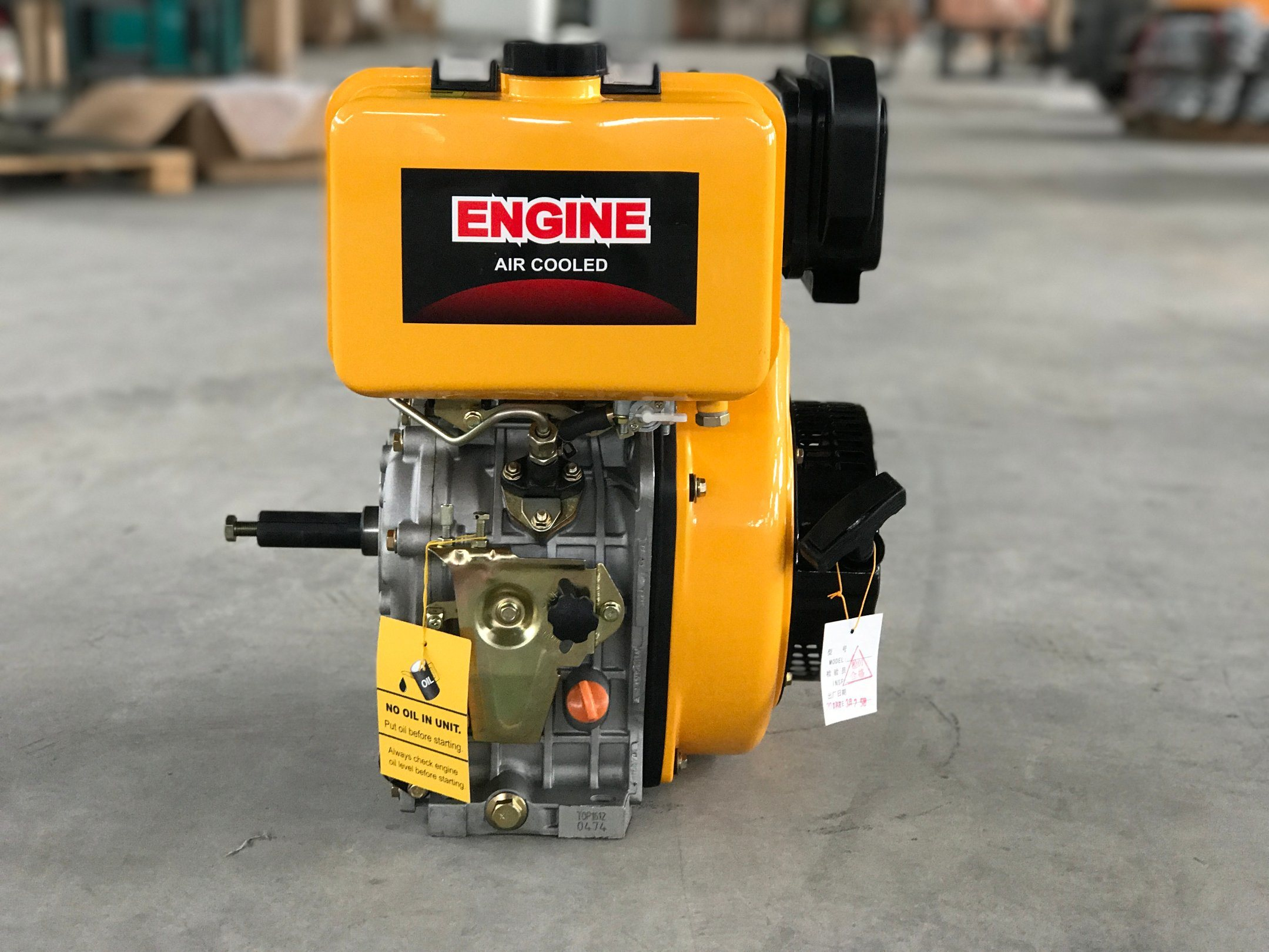 Diesel Engine 5HP, 7HP, 10HP Ce Approval (FSH170/178/186F(E))