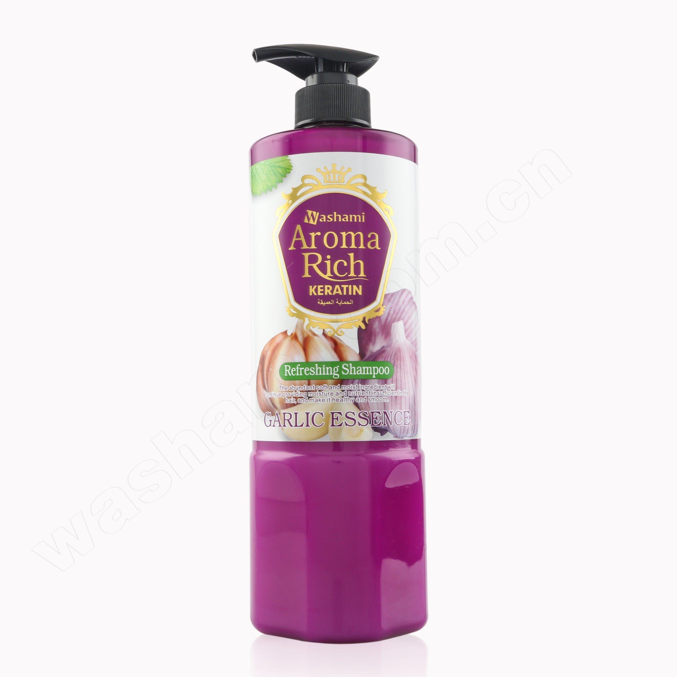 Washami 1200ml Refreshing Garlic Hair Shampoo Conditioner
