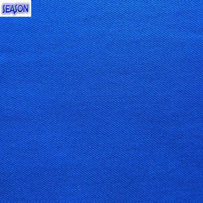 Cotton 10*10 72*44 310GSM En11611 En11612 Standard Flame-Retardant Fabric for Protective Clothes