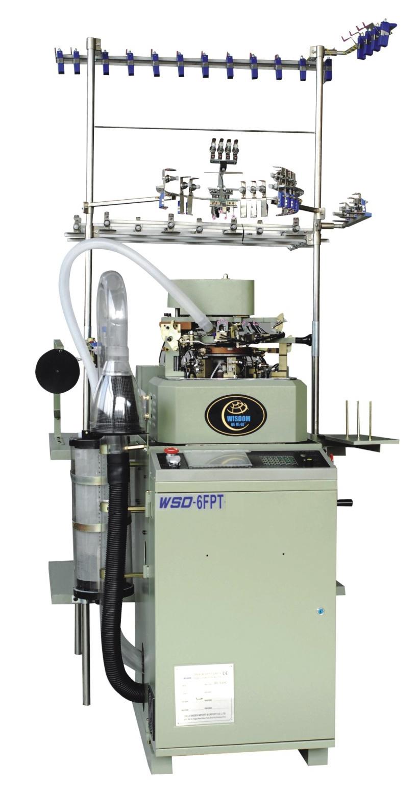 WSD-6FPT Flat Socks Knitting Machine with Single Cylinder