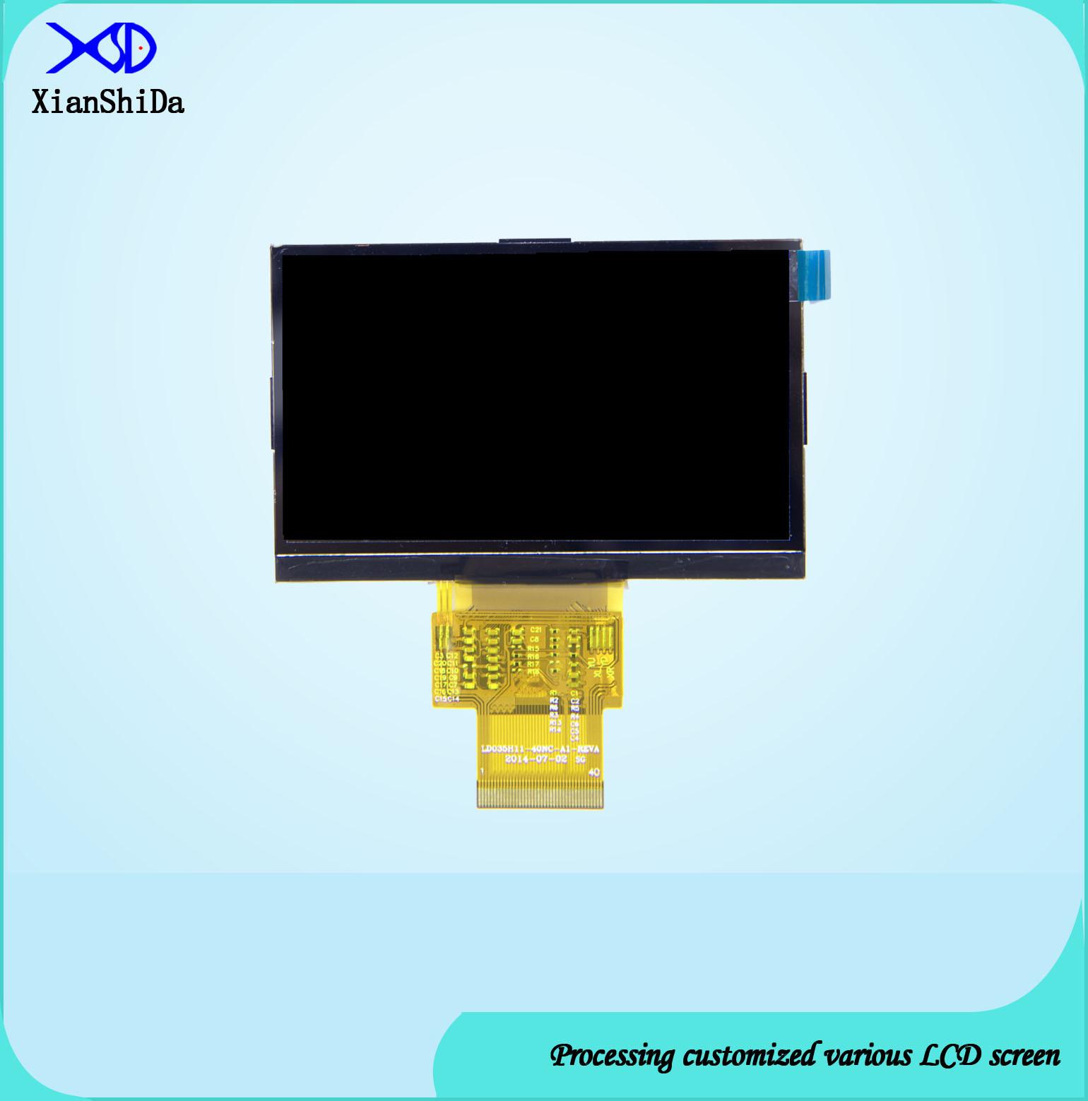 3.51 Inch LCD Display 480 (RGB) X272 Resolution