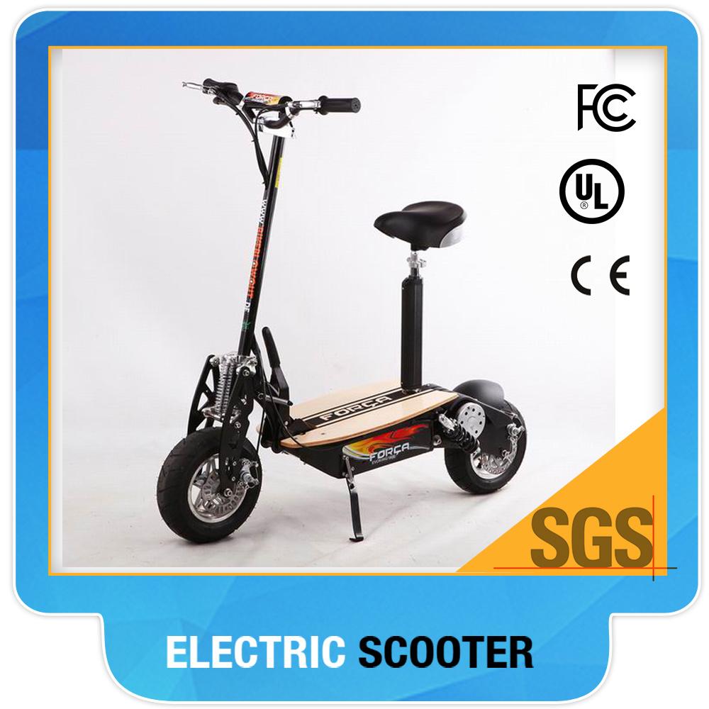 2 Wheel Electric Scooter 1300watt Brushelss Motor