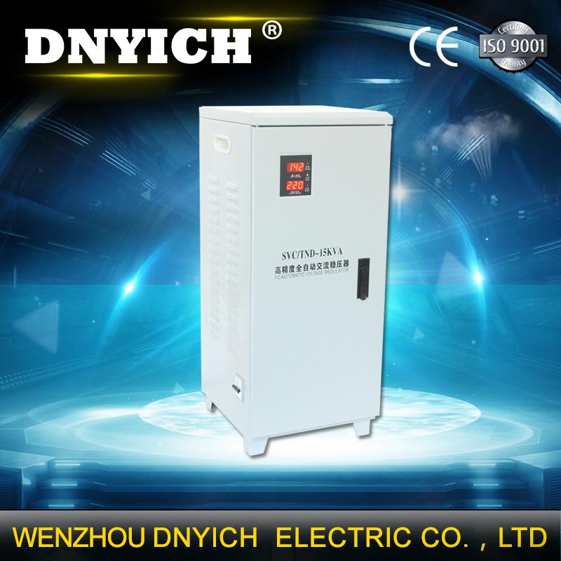 SVC/Tnd 15000 Watt AC Relay or Servo Automatic Voltage Regulator AVR