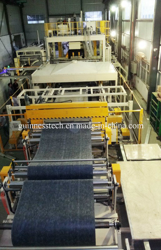 Automatic Production Line Vehicle Carpet Roof Whell Arch Trunk Interior