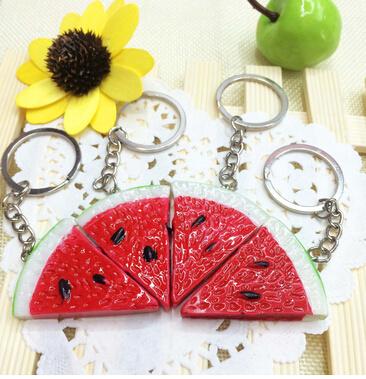 Promotional Gift Custom Resin Key Ring