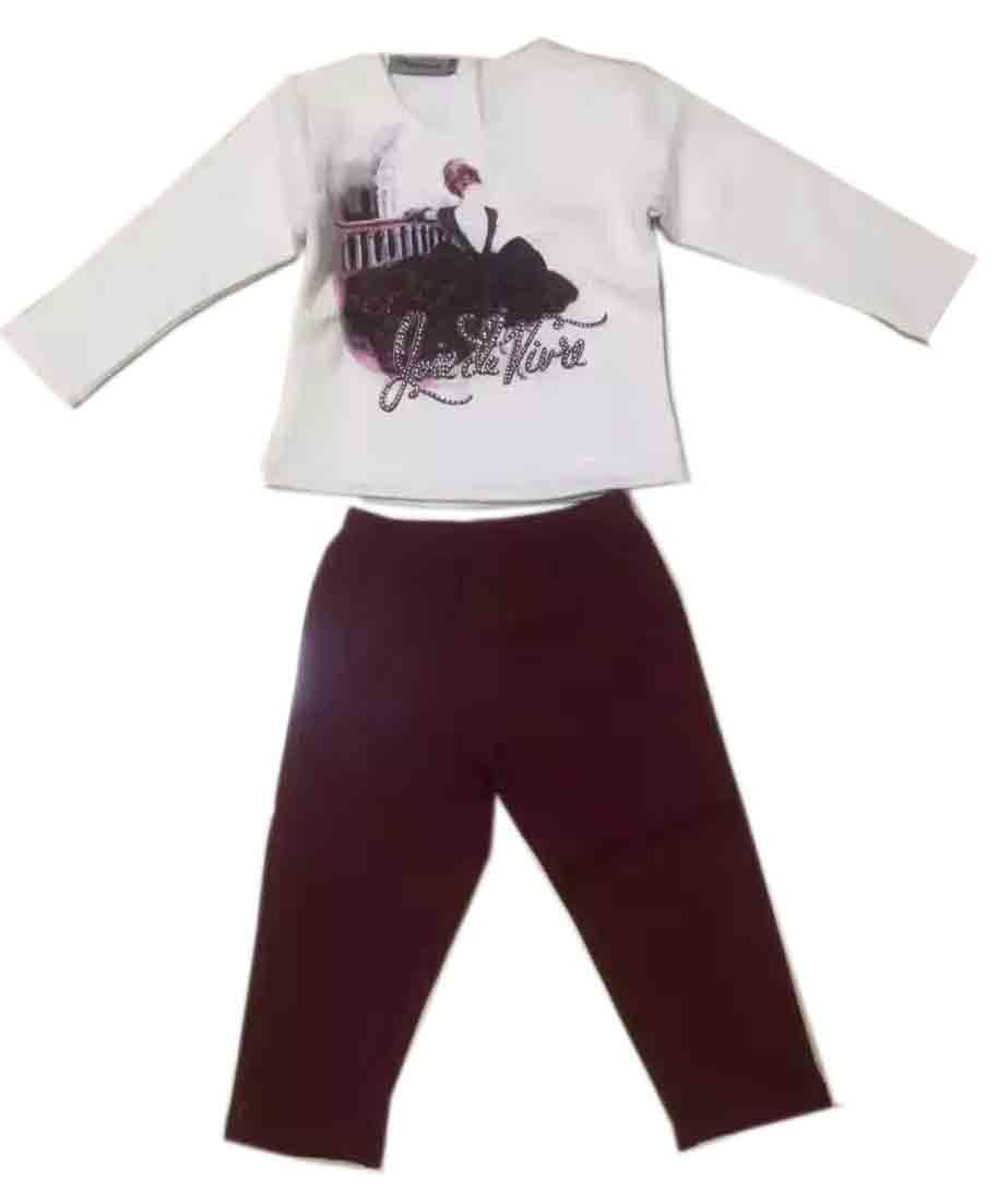 Fashion Baby Wear Sport Suits Pajamas in Children Night Clothes Sq-17111