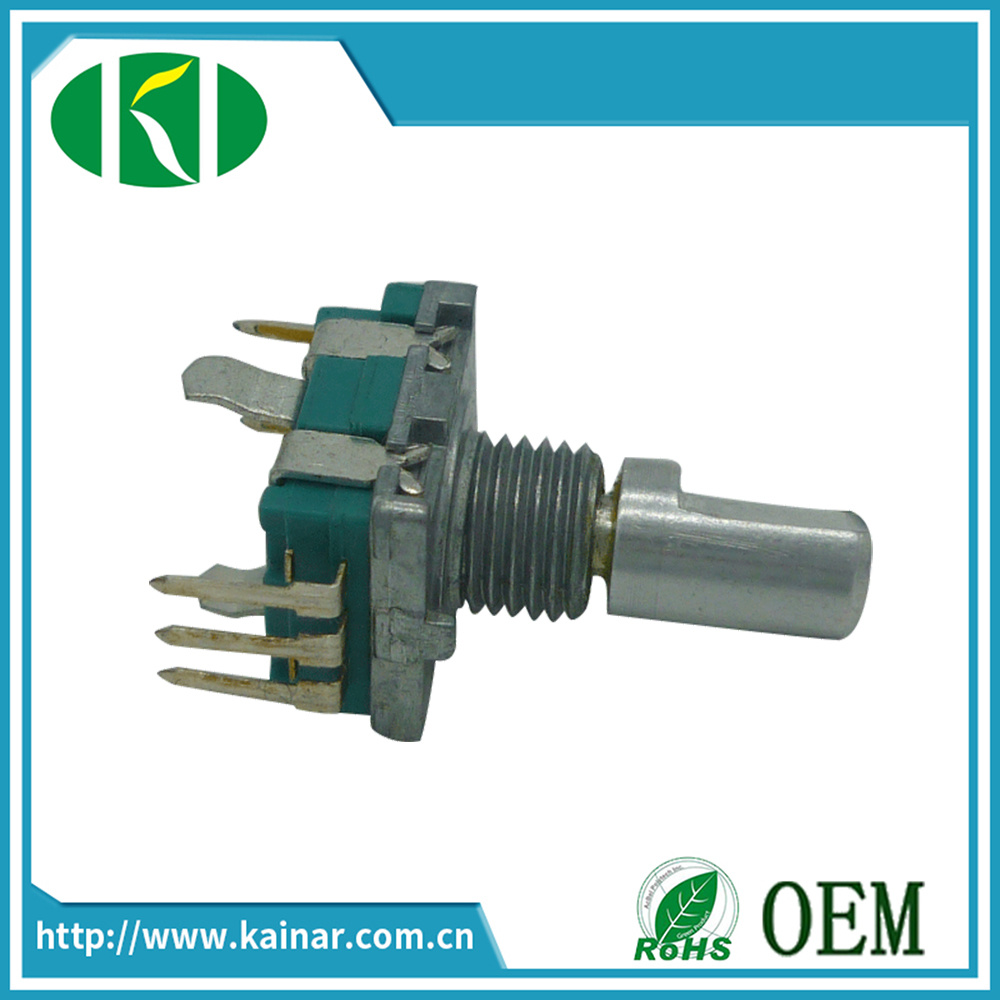 11mm Rotary Encoder for Audio Control Volume with Switch Ec11-1b-F