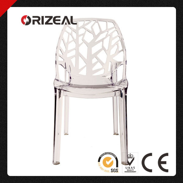 Replica Modern Designer Spiderwoman Dining Plastic Crystal Chair (OZ-1190PC)