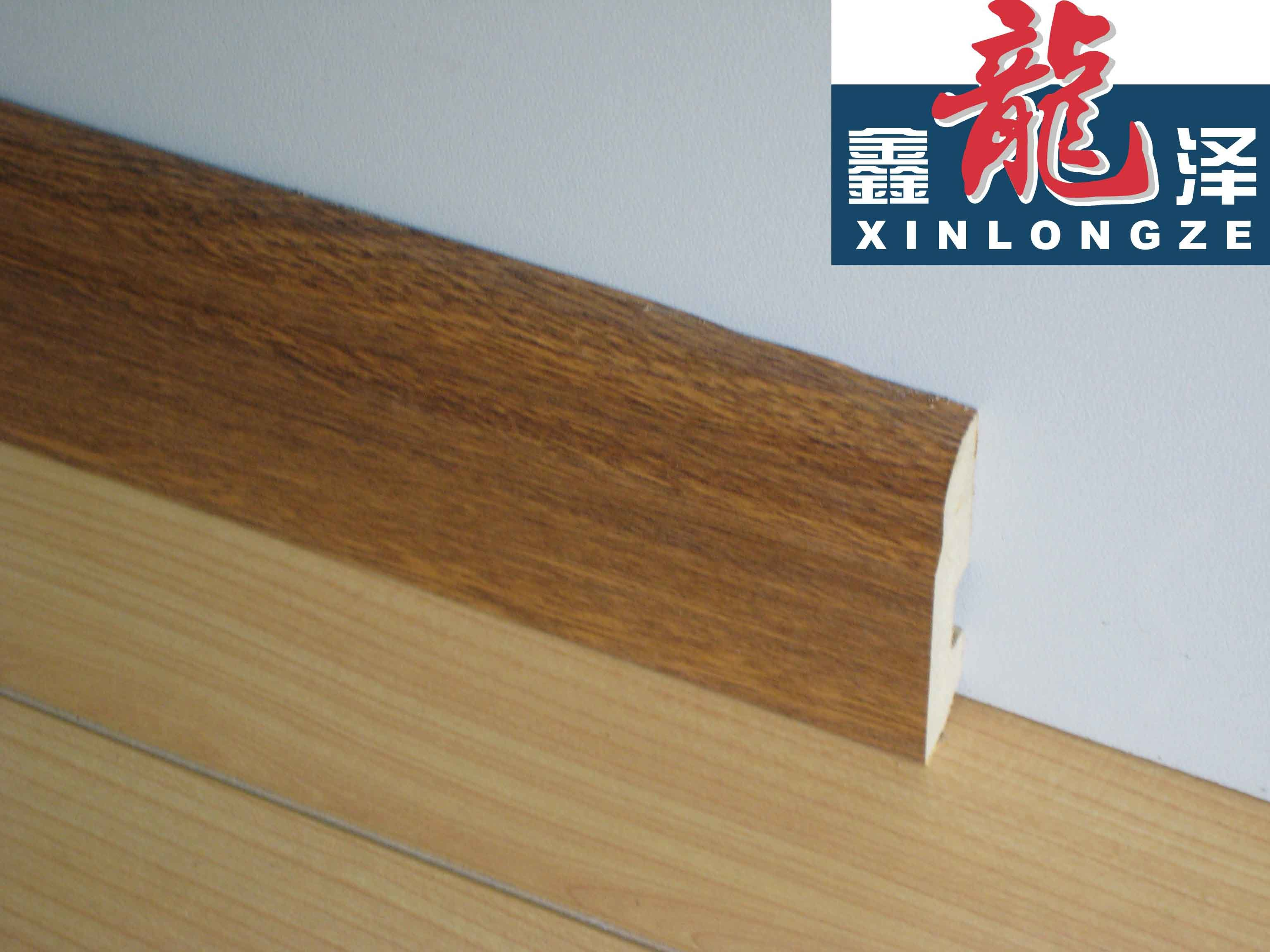 China mdf skirting wall board used