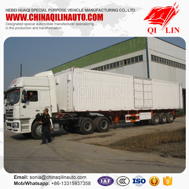 30-50ton Capacity Cargo Container Trailer for Sale
