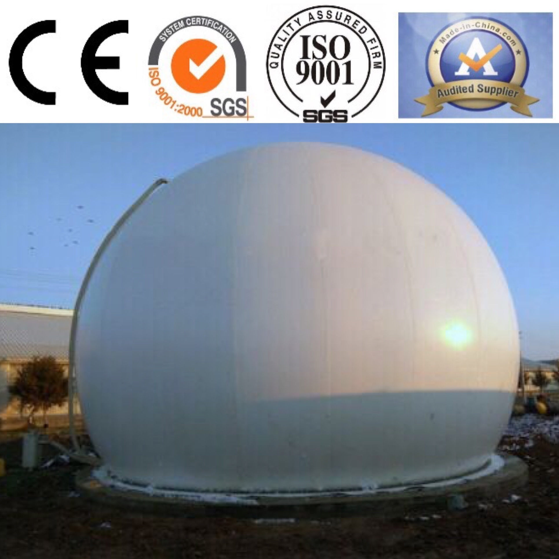 Gas Holder Equipment for Distillation Equipment