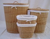 China wicker laundry basket round with lid and liner jdx1 003s china wicker willow - Wicker laundry basket with liner and lid ...