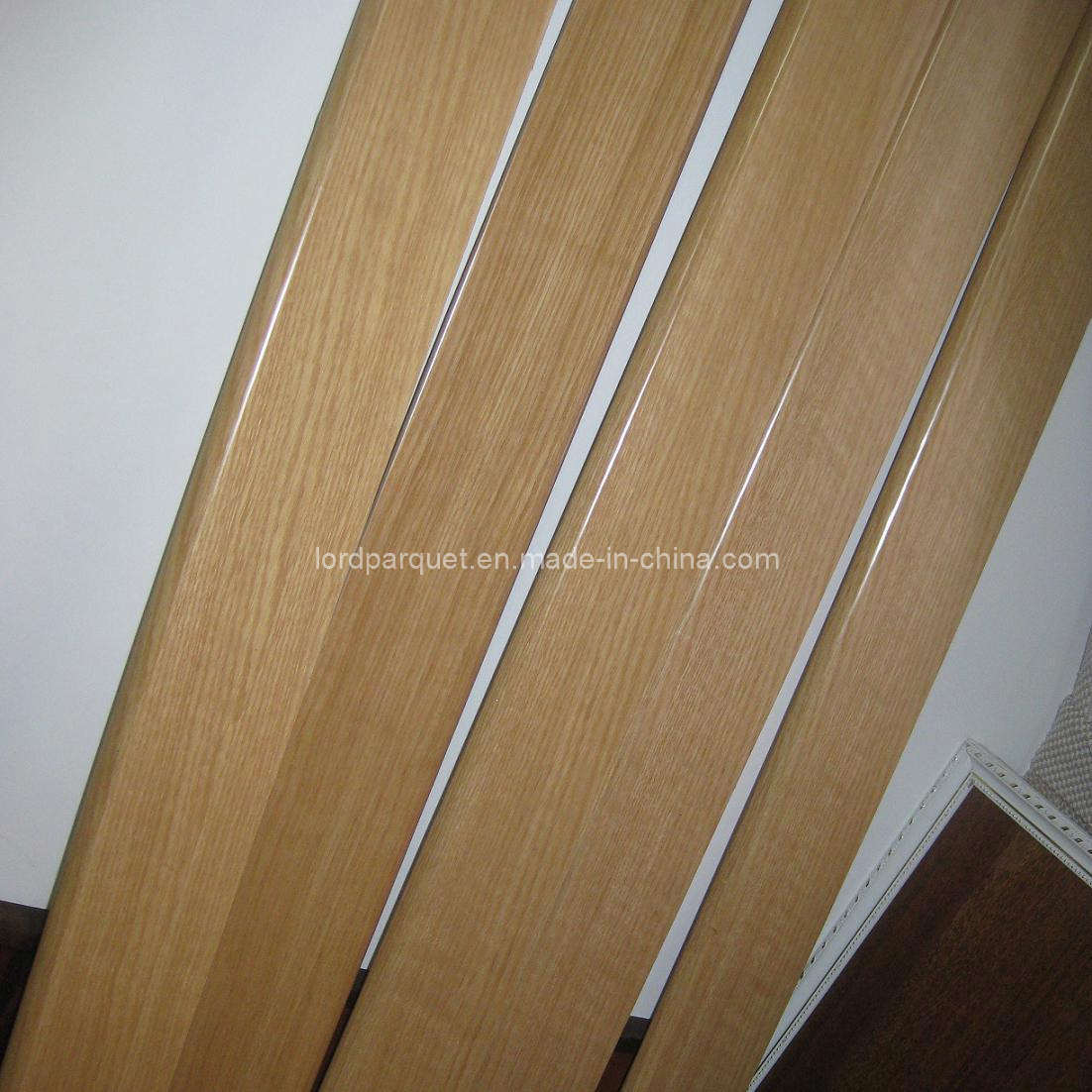 China Natural Lacquered Wood Floor Molding Ldp M11