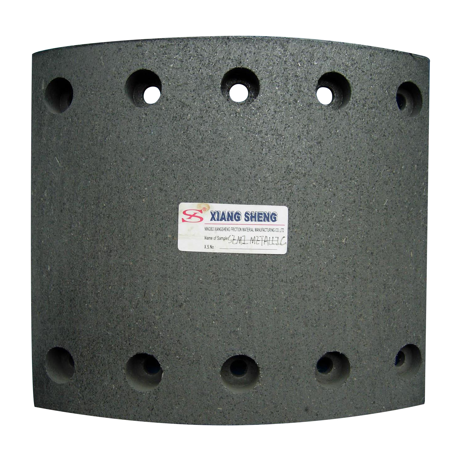 Semi Metallic High Quality Brake Lining