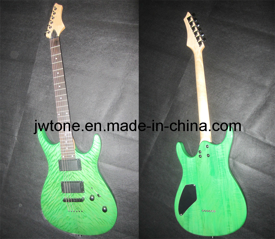 String Through Body Design Quality Electric Guitar