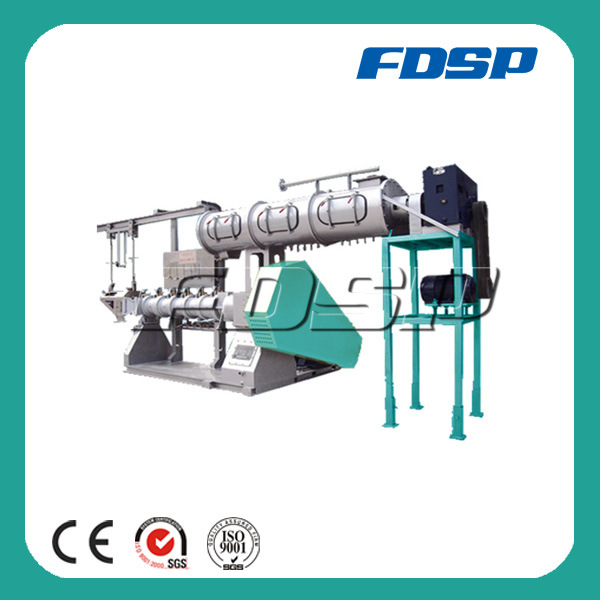 Aqua Feed Single Screw Steam Extruding Machine