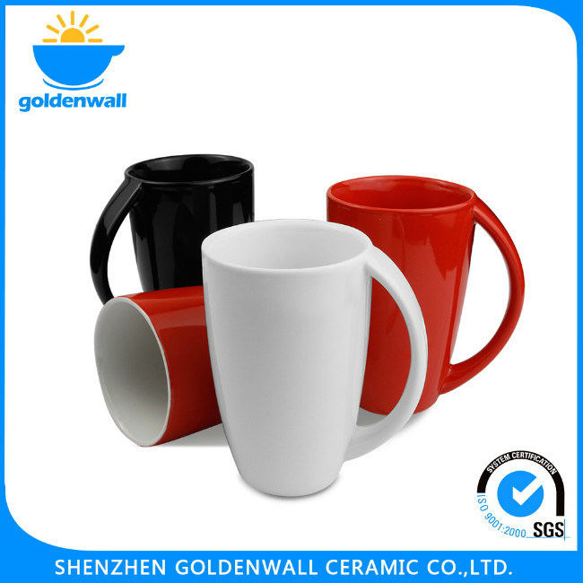 300ml Custom Colored Coffee Mug with Handle