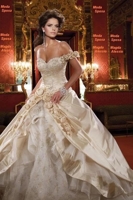 elegant princess wedding dresses