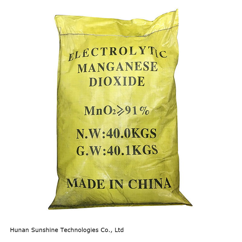 Emd Electrolytic Manganese Dioxide for Zinc Carbon Battery Grade