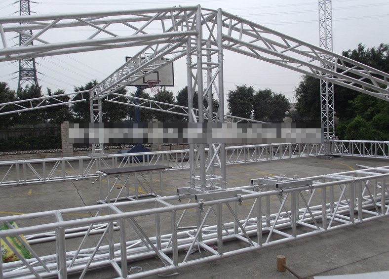 Image gallery stage truss for Truss roof system