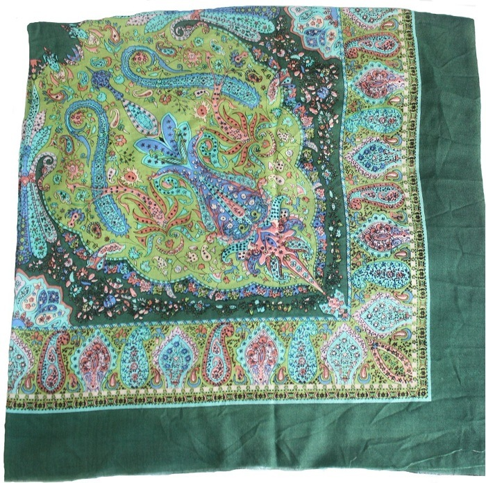 100% Wool Scarf Muslim Iran Turkish (MSS0036)