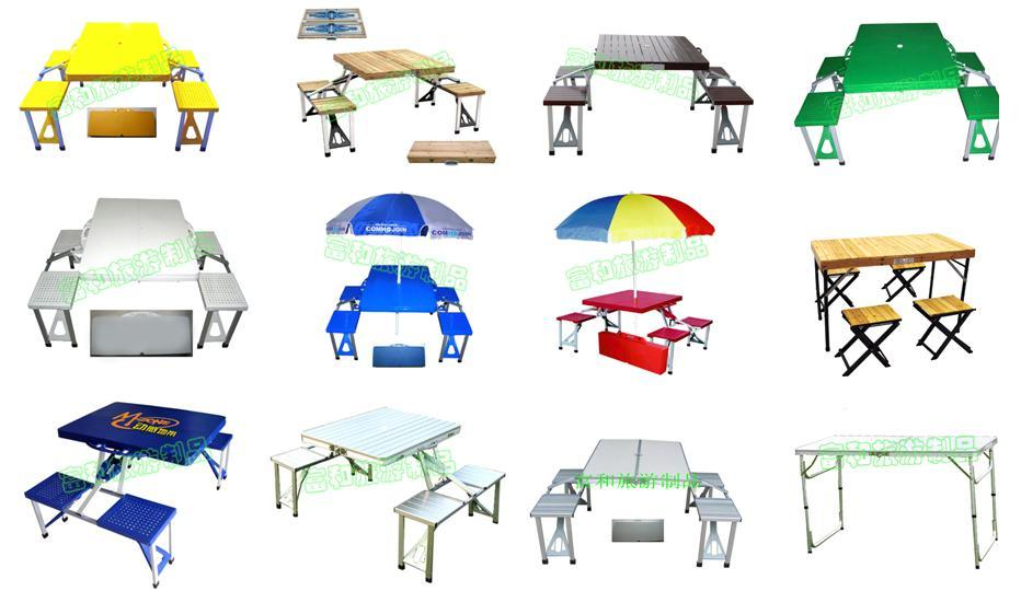 folding table and chair set camping 3