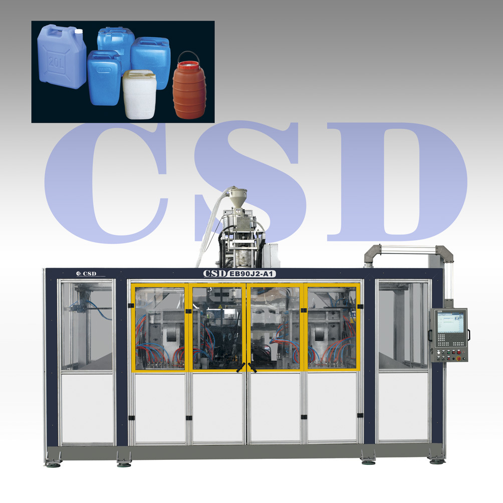 CE Approved Automatic Extrusion Blow Molding Machine (EB90J2)