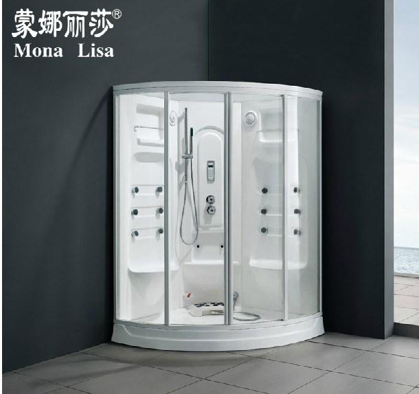 2 Seats Acrylic Steam Shower Room Cabin Infrared Sauna