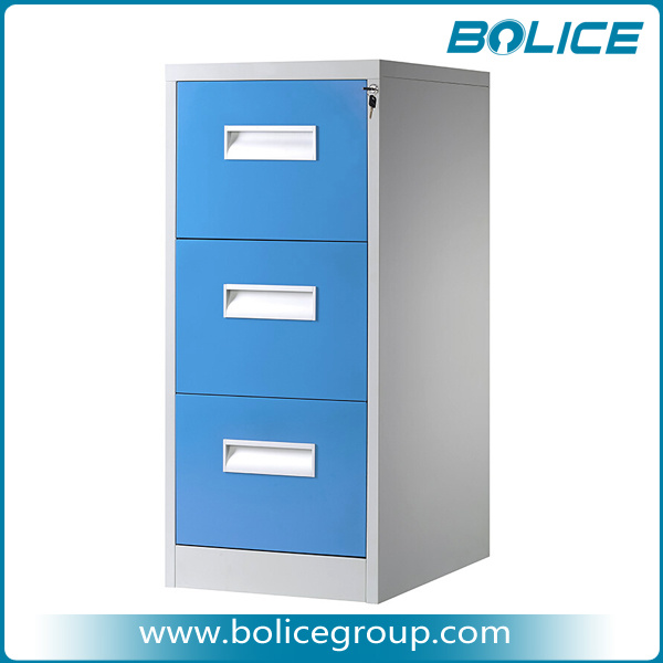 Alloy Embedded Handle Filing Cabinet