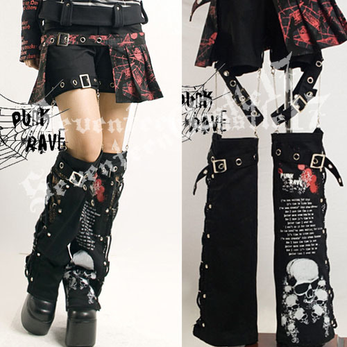 China Punk Gothic Lolita Pants - China Punk Gothic Lolita Pants Trousers