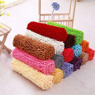 Cheap Price Chenille Carpet Mat Anti-Slip Water Absorption Bath Mat