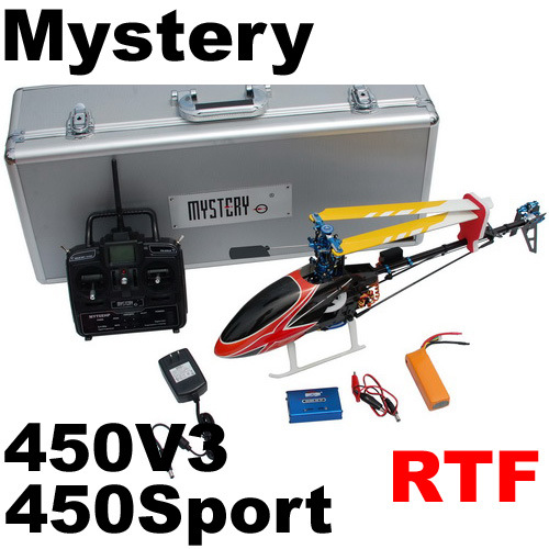 450V3 450 Sport Rtf 3D 2.4G 6CH RC Helicopter Clone Align Trex (10030604)