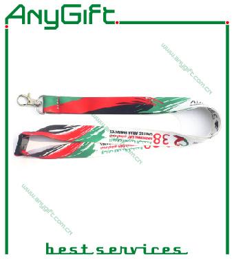 Heat Transfer Pring Ribbon/ Lanyard with Customized Logo (LAG-LY-01)