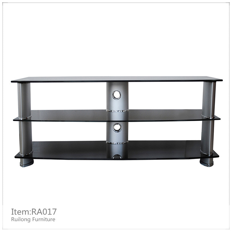China Tempered Glass Lcd Tv Stand Ra017 China Tv Stand